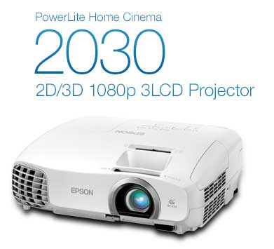Epson PowerLite Home Cinema 2030 1080p 3LCD Projector