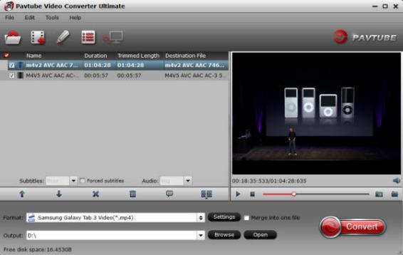 galaxy s video converter