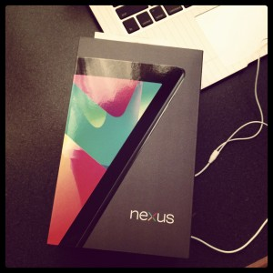 Google Nexus 7 file transfer