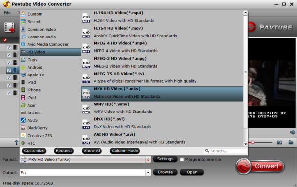 How to transcode or convert MKV DTS sound to AAC/AC3 with 5 1