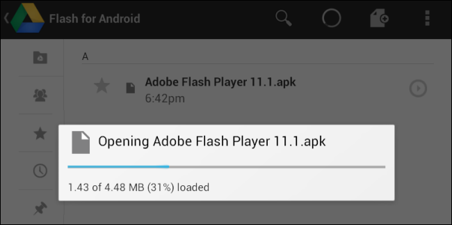 Download and install adobe flash player 11 1 on nexus 7 How to start flash player