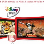 How to transfer DVD Movies to Nabi-2 Kids Tablet