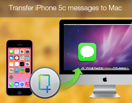 Transfer iPhone 5c messages to Mac