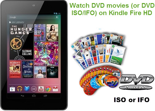 Copy DVD movies to Kindle Fire HD