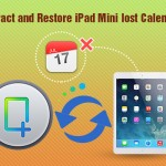 Preview lost calendar in iPad Mini