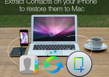Restore iPhone Contacts to Mac
