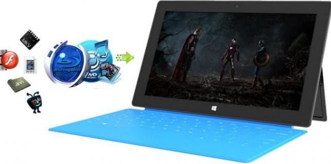transfer Media to Windows tablet