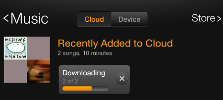 download all your songs to Kindle Fire HD