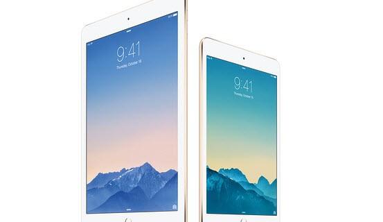 iPad Mini 3 and iPad Air 2