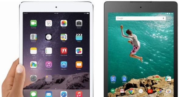 Nexus 9 vs iPad Mini 3 Comparison