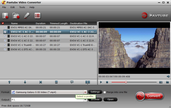Video to Galaxy S3 for Mac