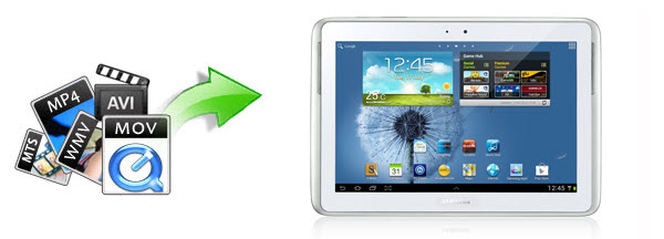 Watch videos on Galaxy Note 10.1 (2014)