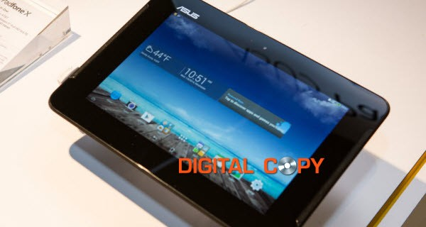 play Digital Copy on Asus Padfone X