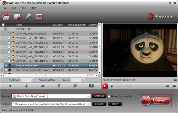 Pavtube Free Video DVD Converter Ultimate