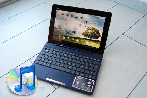 Enjoy iTunes M4V on Transformer Pad TF300 Tablet