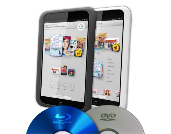 Rip Blu-ray, DVD to Nook HD/HD+, Nook Tablet, Nook Color