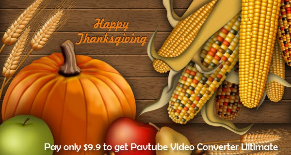Pavtube Thanksgiving deals
