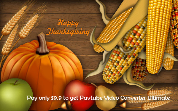Pavtube Thanksgiving deals