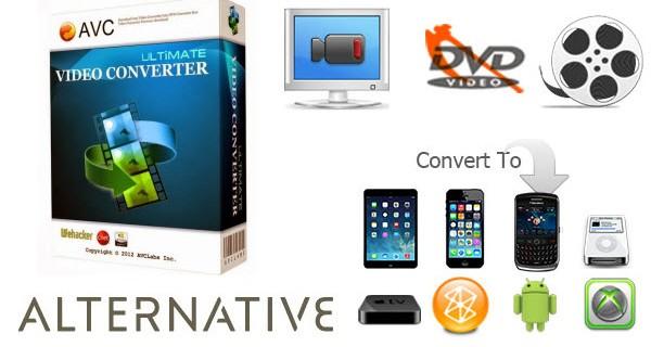 Any Video Converter Ultimate alternative
