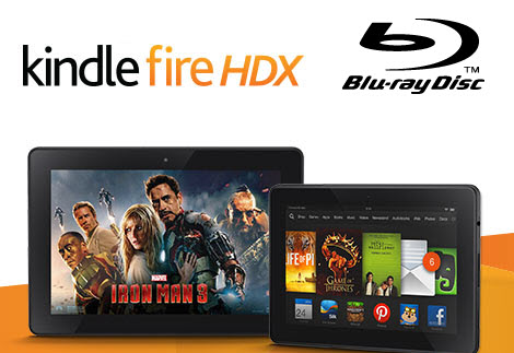 enjoy Blu-ray movies on Kindle Fire HDX