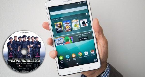 Enjoy Blu-ray on Galaxy Tab 4 Nook 7 Inch Tablet