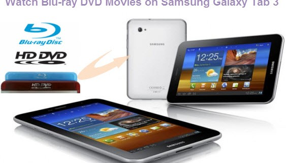 copy 1080p Blu-ray/DVD Movie to Galaxy Tab 3
