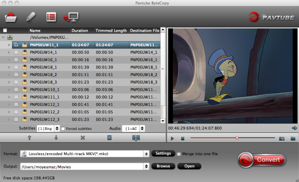 Blu-ray backup tool