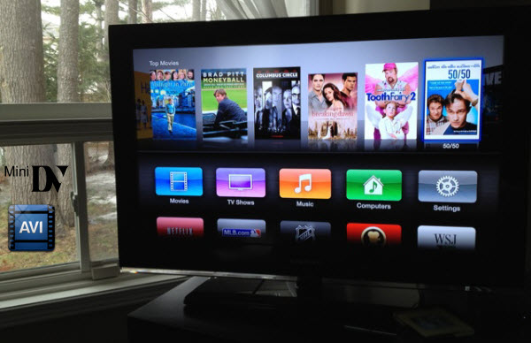 Convert AVI from MiniDV cassettes to Apple TV