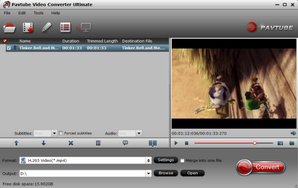 Video to H.265 Converter