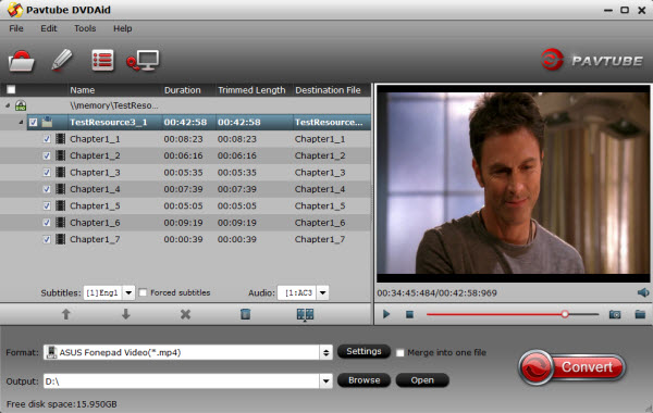 Asus Padfone DVD Ripper