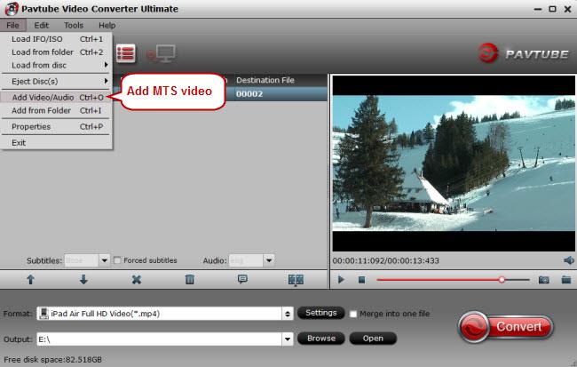 ipad air video converter Convert MKV, AVI, VOB, FLV, WMV, MTS, XviD, Divx to iPad Air 2 with no quality loss