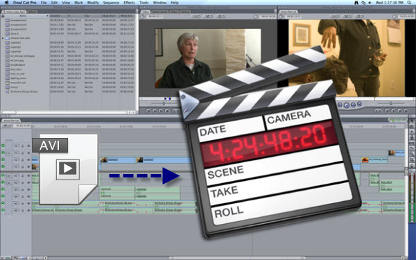 Importing AVI to FCP X