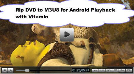 Play DVD to M3U8 for Vitamio Streaming - ที่เก็บลิ้งค์ - Jacklure