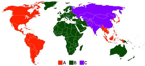 bluray region codes