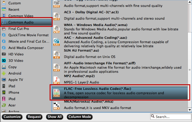How to Extract WAV Tracks to FLAC from Blu-ray/DVD Audio discs? | i